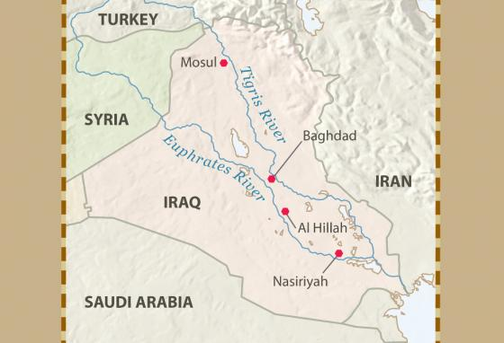 The region of modern-day Iraq saw a lot of Bible history.