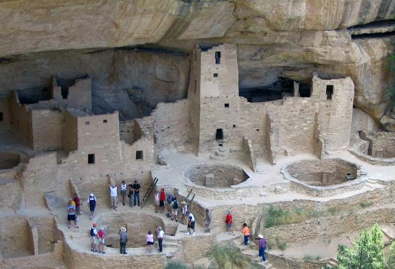 Today's visitors to Mesa Verde try to imagine what life was like for the ancient Puebloans. (AP)