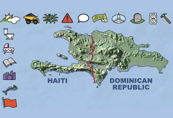 Haiti and the Dominican Republic share the island of Hispaniola, just 90 miles from Cuba. (RB)