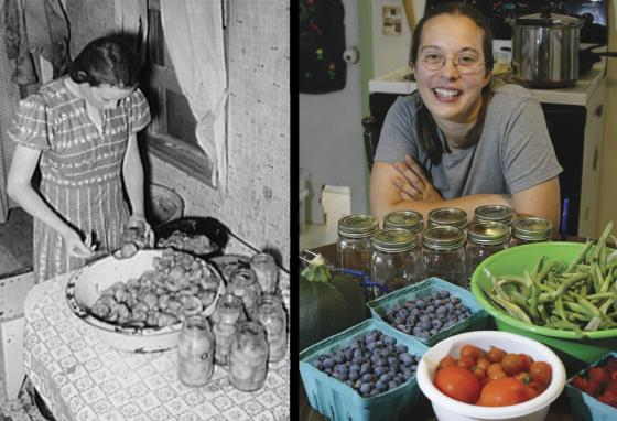 Canning your own fruit and vegetables at home is an old tradition people still practice today. (AP)