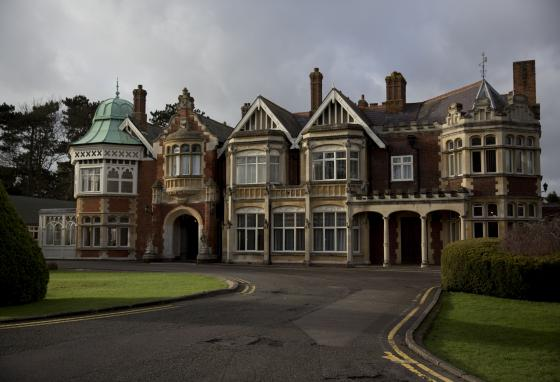 The mansion where codebreakers worked during World War II is now Bletchley Park museum. (AP)