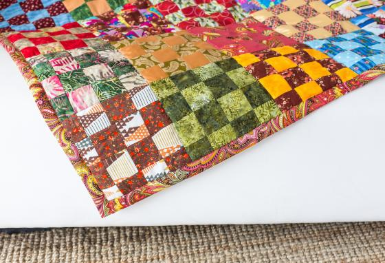 Quilting is an old craft. But people are still making quilted blankets and art pieces today!