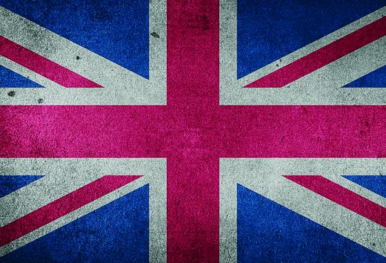 The flag of the United Kingdom is called the Union Jack or the Union Flag. It combines the crosses of the three patron saints of England, Ireland, and Scotland.