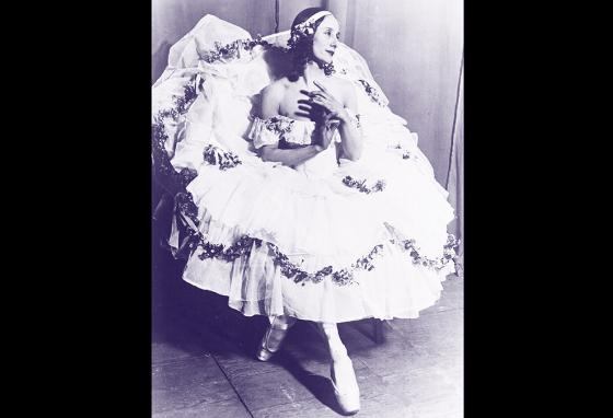 Russian ballet dancer Anna Pavlova in 1925. (AP)