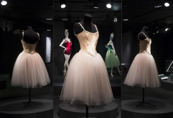 The Fashion Institute of Technology exhibit features 90 items, including ballet costumes, high fashion, and athletic wear. (FIT)