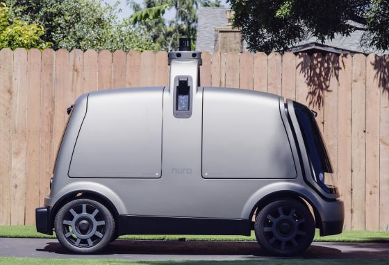 The Rl will be used in the second part of testing driverless delivery. (AP)
