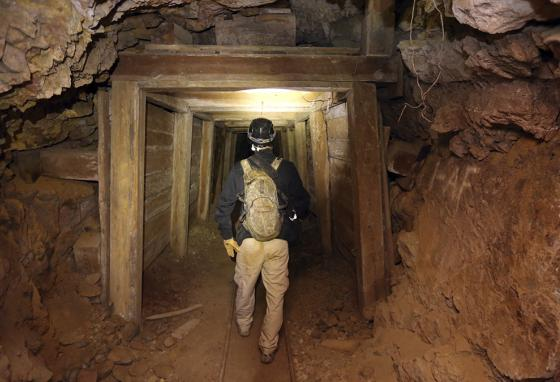 What's the thrill of exploring old mines?