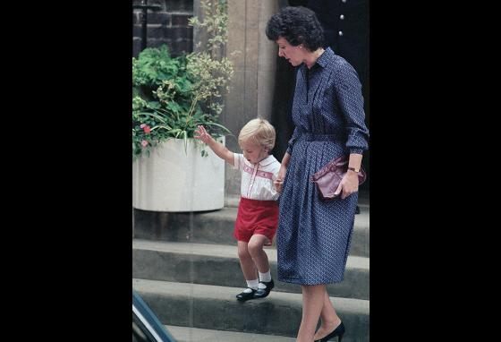 Royal children act like other kids. Prince William once stuck his tongue out at reporters. He is seen here in 1984.