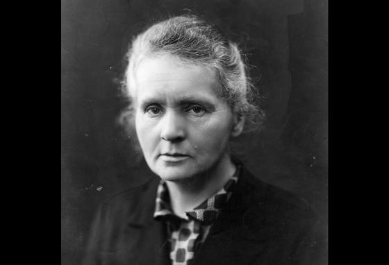 Scientist Marie Curie is famous for her work with radioactivity.
