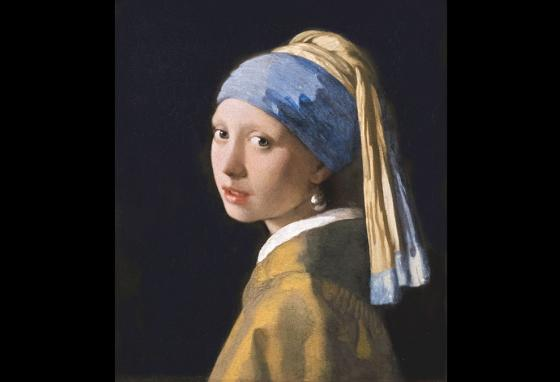 Johannes Vermeer's 17th-century masterpiece, Girl With a Pearl Earring