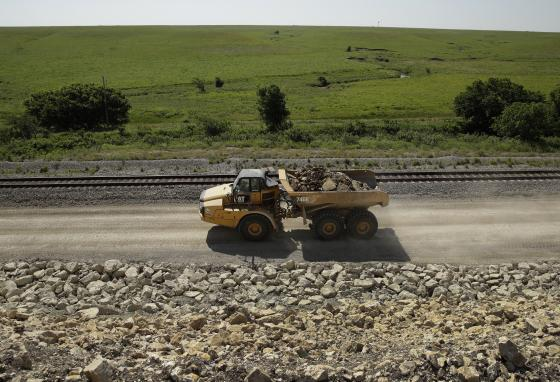 More than a century after railroads arrived in the Flint Hills of Kansas, builders have started adding tracks. (AP)