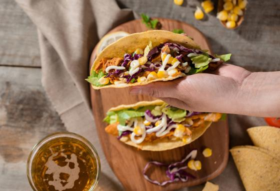 Tacos make versatile dinners, blending elements from many cultures into one tasty package.