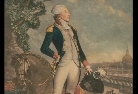 Americans celebrated General Lafayette on his tour through the young country. (Library of Congress)