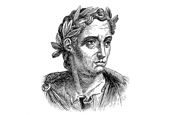 Pliny wrote about the eruption of the volcano.
