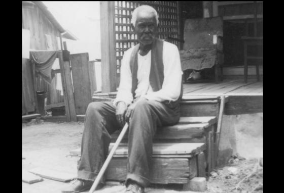 Felix Haygood was a former slave. He was 92 years old when this picture was taken. (Library of Congress)