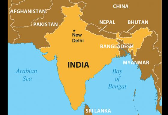 Of India's 1.252 billion people, 80% are Hindu and only 2% are Christian.