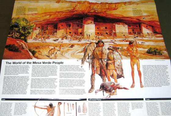 Ancient Puebloans are the likely ancestors of the Pueblo Indians today, who are named for their pueblo housing style. (National Park Service)