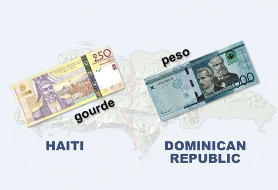 Both Haiti and the Dominican Republic have their own currency.