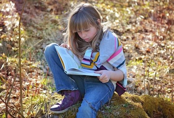 Do you ever sneak off just to enjoy reading a book somewhere quiet?