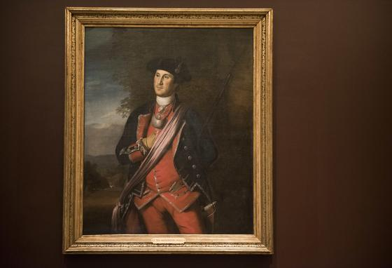 The earliest known portrait of George Washington is on loan from Washington & Lee University. (AP)