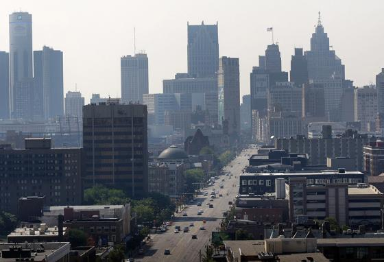 The city of Detroit has an estimated population of 672,662 people. We get that number from taking a census. (AP)