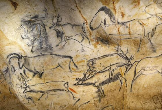 Since most people will never get to see the drawings in the real Chauvet Cave, scientists, artists, and the French government created the replica. (AP/Claude Paris)