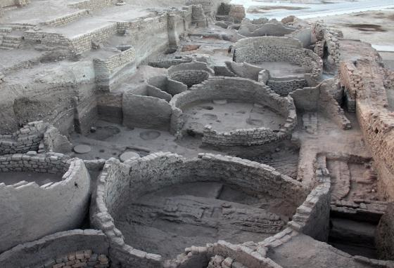 Archaeologists uncovered seven silos at Tell Edfu. Joseph likely stored grain in similar silos. (Oriental Institute of the University of Chicago)