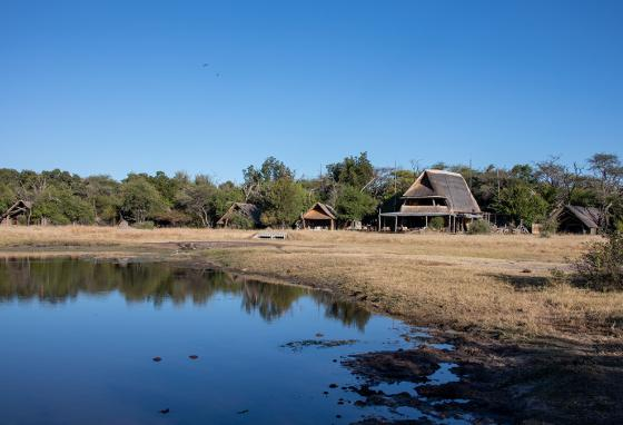 Houses along a river in Zimbabwe. No property rights means Zimbabweans get poorer and poorer.