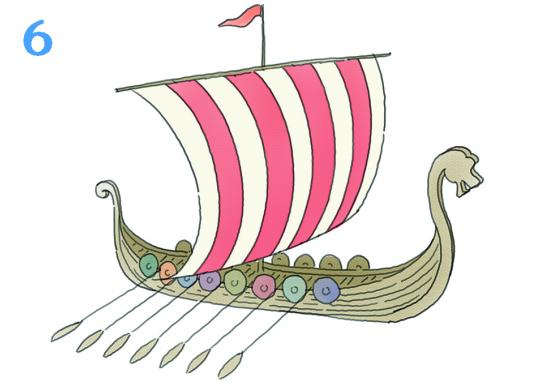 The Vikings still sail in Scandinavia, though the end of that era is near. (R. Bishop)