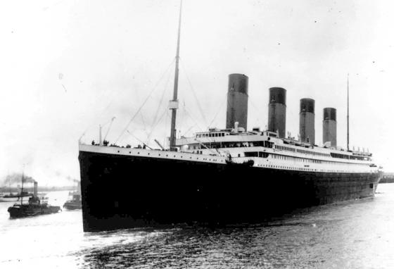 On April 10, 1912, Titanic leaves Southampton, England, on her maiden voyage. (AP)