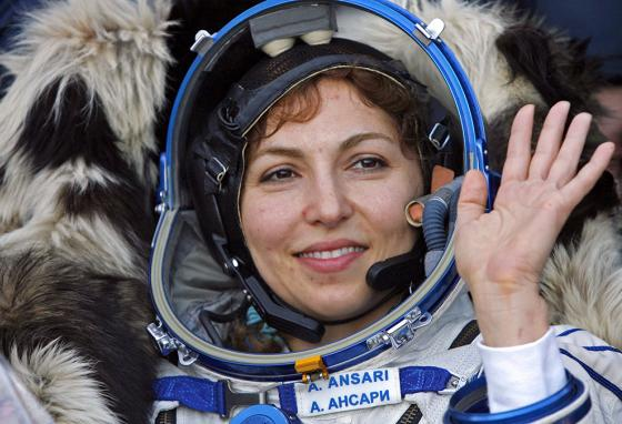 Anousheh Ansari, first to fund the original XPRIZE for space tourism and now chief of the XPRIZE Foundation (AP)