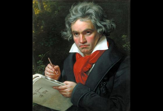 Ludwig van Beethoven composed music even after losing his hearing.