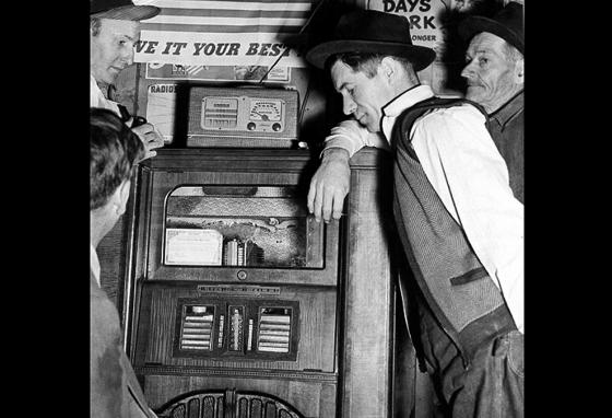 Radio news was the fastest way to learn what was going on in the world. That was very important during World War II. (AP)