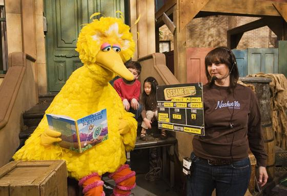 Being Big Bird was sweaty, hard work. But Muppeteer Caroll Spinney never wished he was doing anything else. (AP)