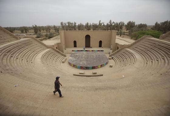 Iraq argued for years for Babylon to become a World Heritage Site. (AP)