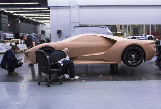 Having hands-on experience with car design gives artists ideas of how to improve it. (AP)