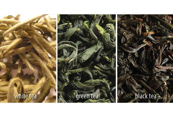 Types of tea depend on how much oxidation is allowed to take place. White has almost no oxidation. Black is fully oxidized. (AP)