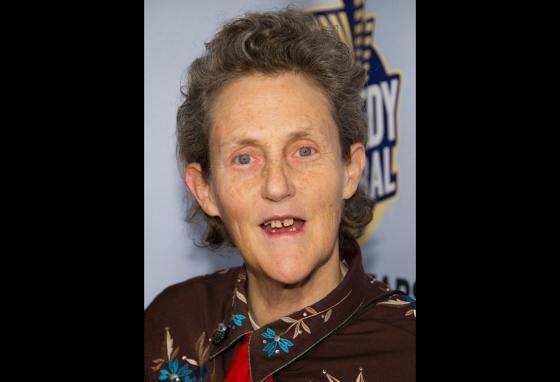 Temple Grandin, who is autistic, is a professor of animal science. (AP/Charles Sykes)