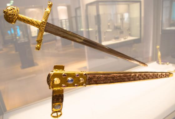 Joyeuse is the sword used in the ceremony for a new king of France. (AP)