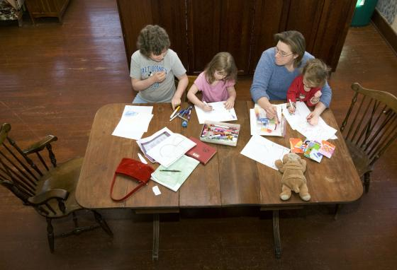 The homeschool movement started in the 1970s. These days, it's common for students to learn in many different ways: public school, private school, homeschool, or even virtual school. (AP)