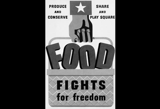 Poster from World War II, like this one from the War Food Administration, encouraged people to grow their own food. (AP)