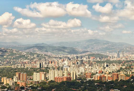 Caracas, Venezuela, was once one of the most thriving cities in South America. (AP)